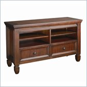 Hammary Hidden Treasures Entertainment Console in Cherry Finish