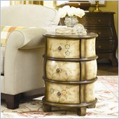 Hammary Hidden Treasures 3 Drawer Round Accent Chest