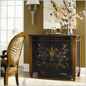 Hammary Hidden Treasures 3 Drawer Accent Chest in Antiqued Black