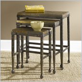Hammary Hidden Treasures Stone Top Nesting Tables