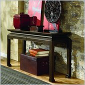 Hammary Chow Sofa Table in Black