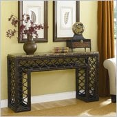 Hammary Boracay Sofa Table in Deep Brown
