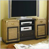 Hammary Boracay Entertainment Console in Deep Brown