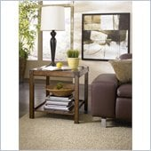 Hammary Studio Home Rectangular End Table in Oak