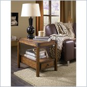 Hammary Studio Home Chairside Table in Oak