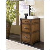 Hammary Studio Home Vertical File Cabinet in Oak