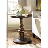 Hammary Chapman Round End Table in Cherry
