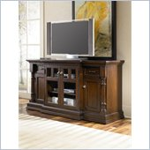 Hammary Chapman Breakfront Entertainment Console in Cherry