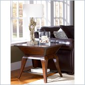 Hammary New Haven Rectangular End Table in Warm Chestnut