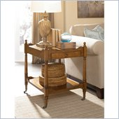 Hammary Wheaton Hall Drawer End Table in Golden Brown