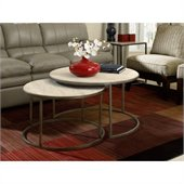 Hammary Modern Basics Cocktail Table in Textured Bronze