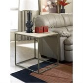 Hammary Modern Basics End Table in Textured Bronze