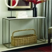 Hammary Modern Basics Sofa Table in Textured Bronze