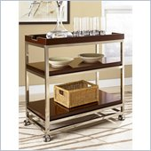 Hammary Montage Bar Cart in Espresso