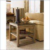 Hammary Spaces Square End Table in Natural Dirftwood