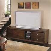 Hammary Tribecca Entertainment Unit 72 in Root Beer