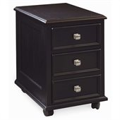 Hammary Camden Mobile 2 Drawer File Cabinet in Black