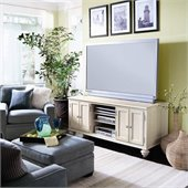 Hammary Camden Entertainment Center 64 in Painted White