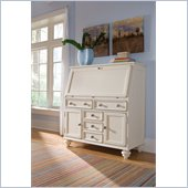 Hammary Camden Drop Lid Work Station in Painted White