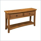 Hammary Antigua Sofa Table in Toasted Almond