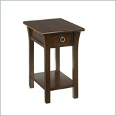 Hammary Chairsides Chairside Table - Coffee in Coffee & Oak