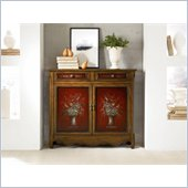 Hammary Hidden Treasures Bouquet Accent Chest in Medium Wood