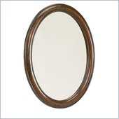 Hammary Hidden Treasures Mirror in Distressed Black and Brown