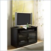 Hammary Hidden Treasures Entertainment Console in Black