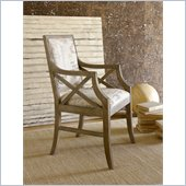 Hammary Hidden Treasures Accent Chair in Light Wood