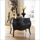 Hammary Hidden Treasures Black Bombe Chest in Black
