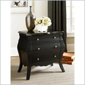 Hammary Hidden Treasures Black Drawer Chest in Black
