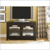 Hammary Hidden Treasures Black Entertainment Console in Black