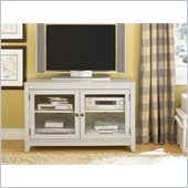 Hammary Hidden Treasures Grey Entertainment Console in Gray