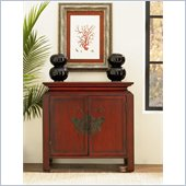 Hammary Hidden Treasures Butterfly Chest in Cherry