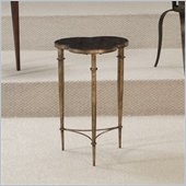 Hammary Hidden Treasures Brass Accent Table