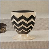 Hammary Hidden Treasures Zig Zag Accent Drum Table