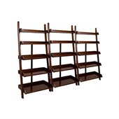 Hammary Tribecca Wall Storage in Root Beer