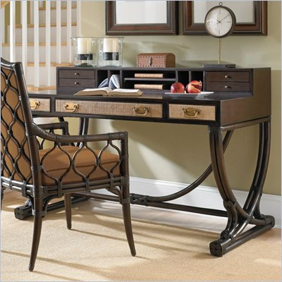 Hammary Boracay Desk in Deep Brown