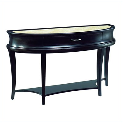 Hammary Capri Sofa Table in Bistre