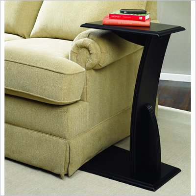 Hammary Chairsides Gushue End Table in Black