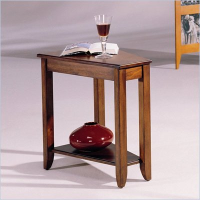 Hammary Chairsides Connors End Table in Cherry
