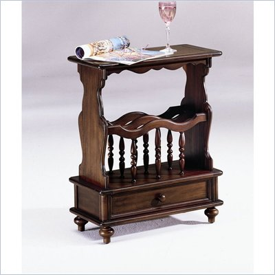 Hammary Chairsides Linden End Table in Cherry