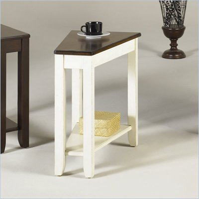 Hammary Chairsides Fran End Table in Promenade
