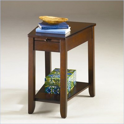 Hammary Chairsides Howard End Table in Burnished Cherry