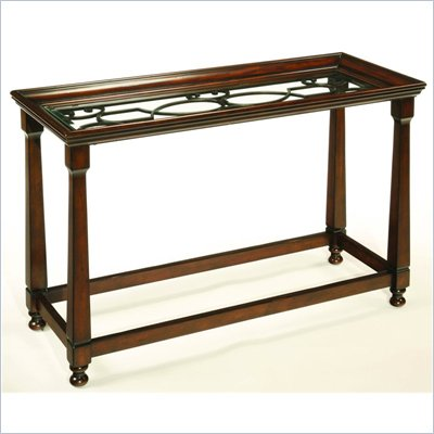 Hammary Drayton Sofa Table in Brown