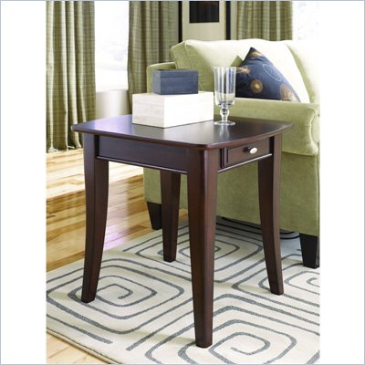 Hammary Enclave Rectangula End Table in Sable