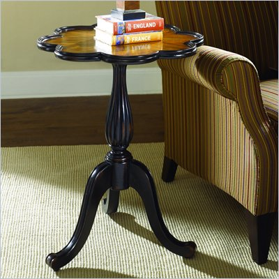 Hammary Hidden Treasures Flower Accent End Table