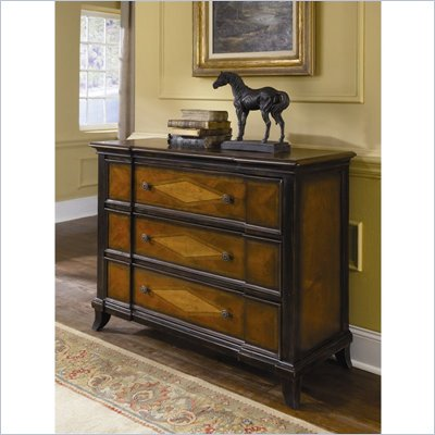 Hammary Hidden Treasures 3 Drawer Accent Chest in Two Tone Finish