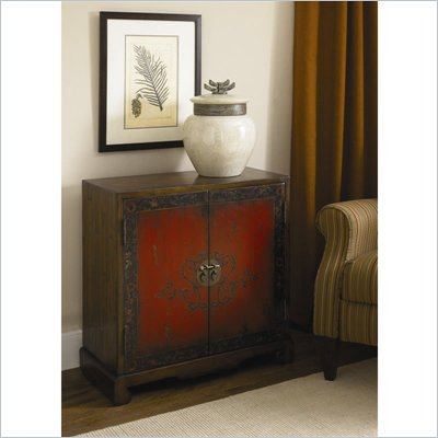 Hammary Hidden Treasures Door Chest in Oriental Antiqued Rustic Finish