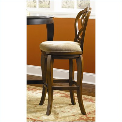 "Hammary Hidden Treasures 30"" Bar Stool in Cherry"